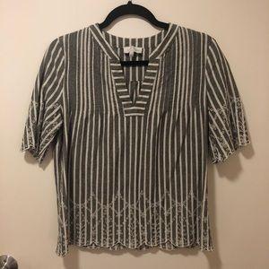 Lucky Brand - Short Sleeve Blouse